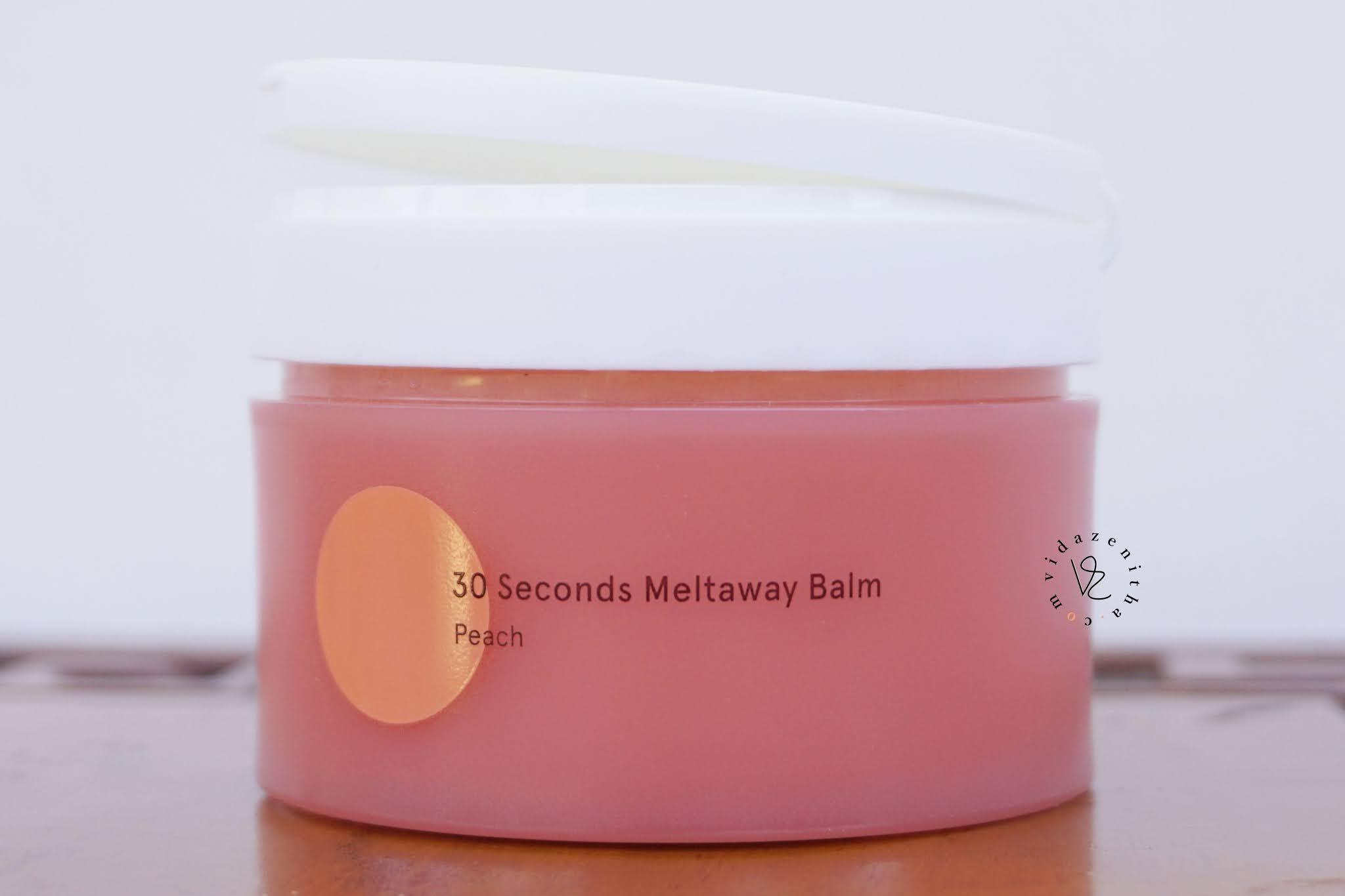 cleansing balm dear me beauty