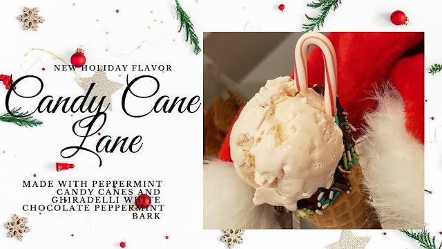 Holiday ice cream magic with Candy Cane Lane at Chicago Mike's Ice Cream Co!