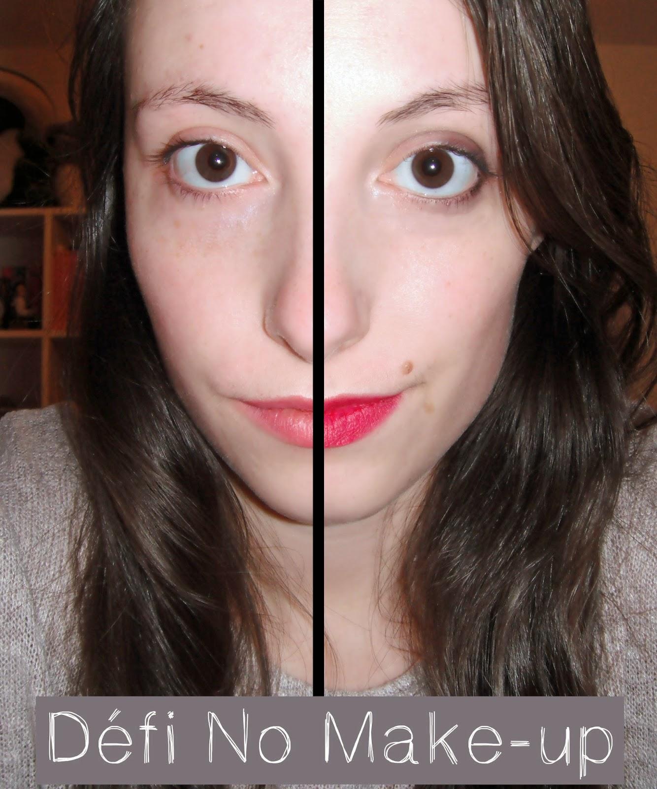 Défi No Make-up & mon rapport avec le maquillage