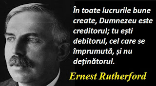 Maxima zilei: 30 august - Ernest Rutherford