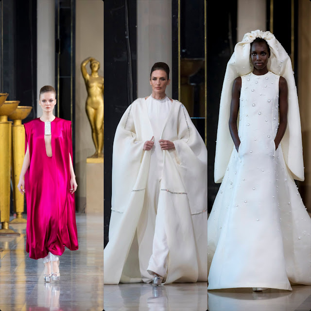 Stephane Rolland Haute Couture Spring Summer 2020 Paris Fashion Week. RUNWAY MAGAZINE ® Collections