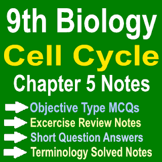 Solved Chapter Wise Biology Notes Federal Board and Punjab Board In PDF