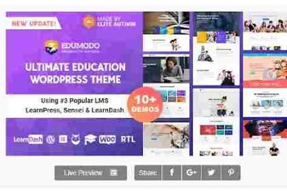 Download Theme Wordpress Edumodo Education