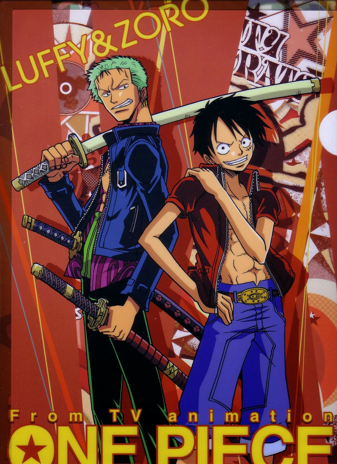 One+Piece+Zoro+and+Luffy+Desktop+Backgrounds+Free+Wallpaper