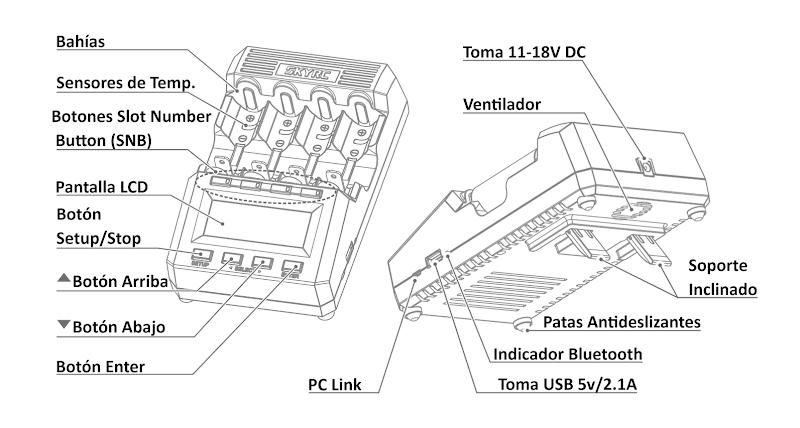[Review] SKYRC MC3000 (Cargador-Analizador Universal