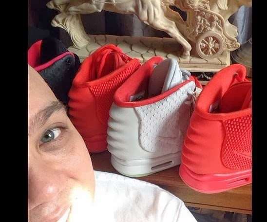 3b5187cd0e12a Dj Delz Review s The Nike Air Yeezy 2 Kanye West Red October Shoes