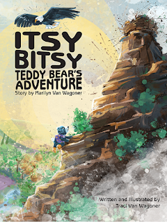 Itsy Bitsy Teddy Bear's Adventure Book Cover