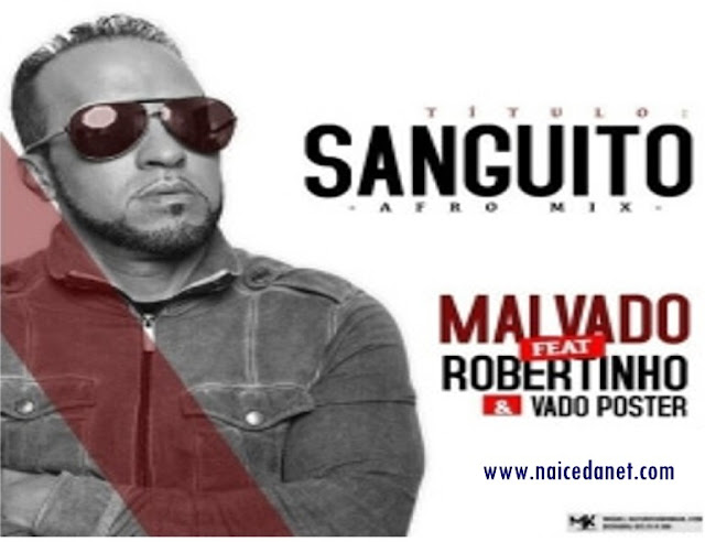 DJ Malvado Ft. Robertinho & Dj Vado Poster - Sanguito