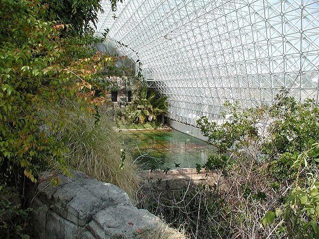 Oceanic area at biosphere 2