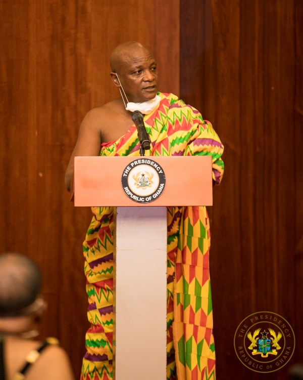 """""""Your Bold Decisions Have Led To Ghana's Low Covid-19 Infection Rate"""" – Togbe Afede Xiv To President Akufo-Addo"""
