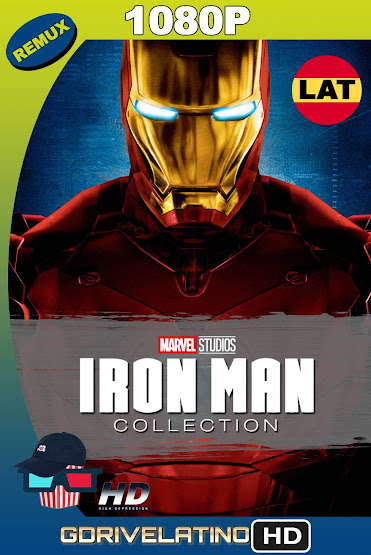 Iron Man Colección (2008-2013) BDRemux 1080p Latino-Ingles MKV