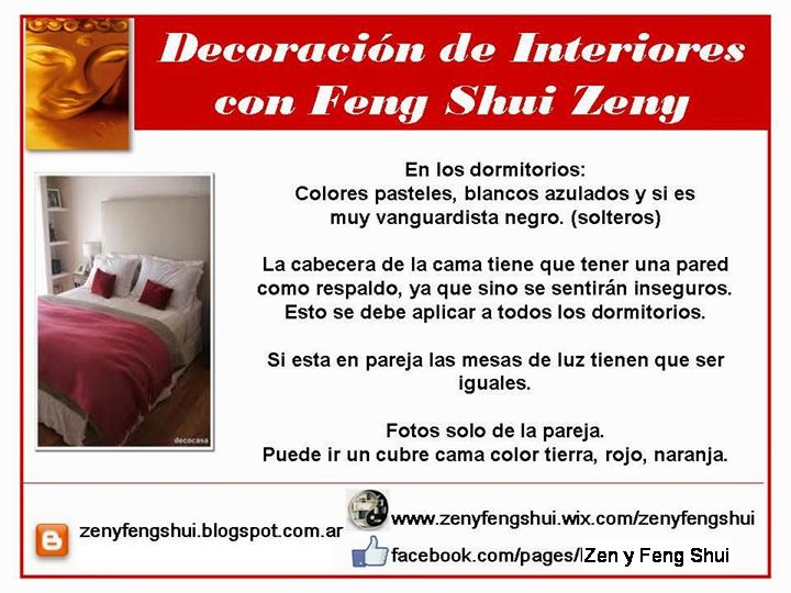 El amor en un dormitorio reforsado con feng shui for Feng shui para el dormitorio