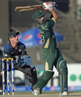 Ahmed Shehzad 113 - Pakistan vs New Zealand 3rd ODI 2014 Highlights