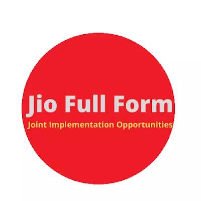 Jio full form