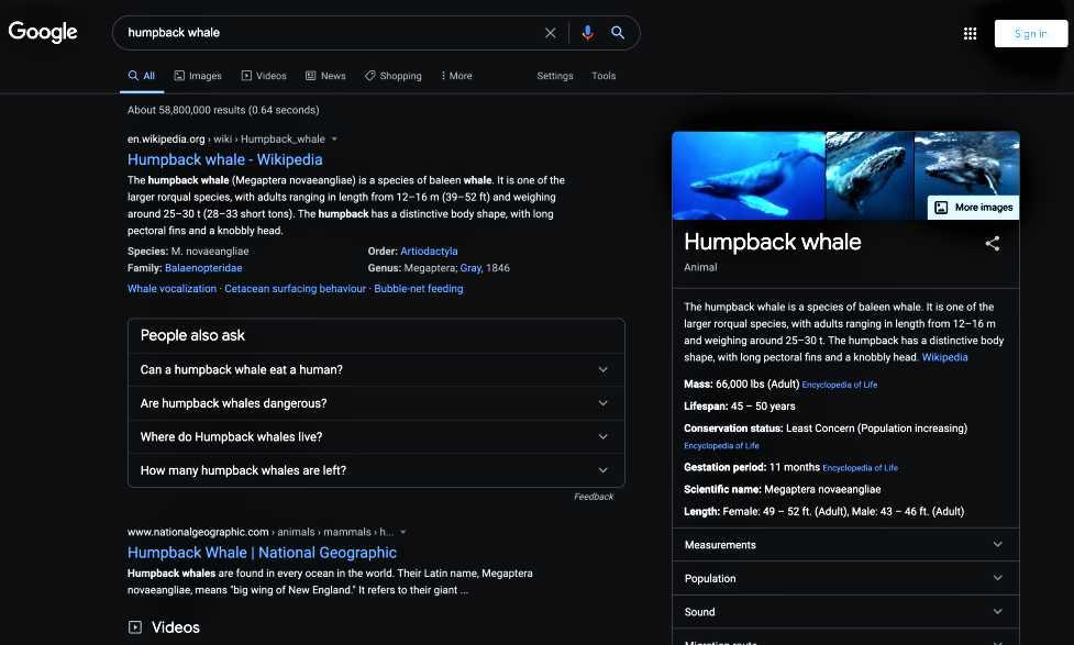Google Search Dark Mode On Desktop