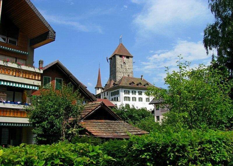 Spiez Castle Garden