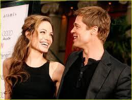 Angelina Jolie to Brad Pitt Celebrity Valentine