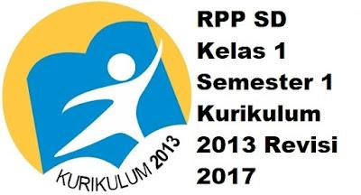 RPP SD Kelas 1 Semester 1 Kurikulum 2013