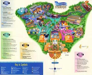 Mapa de Disneyland París 2