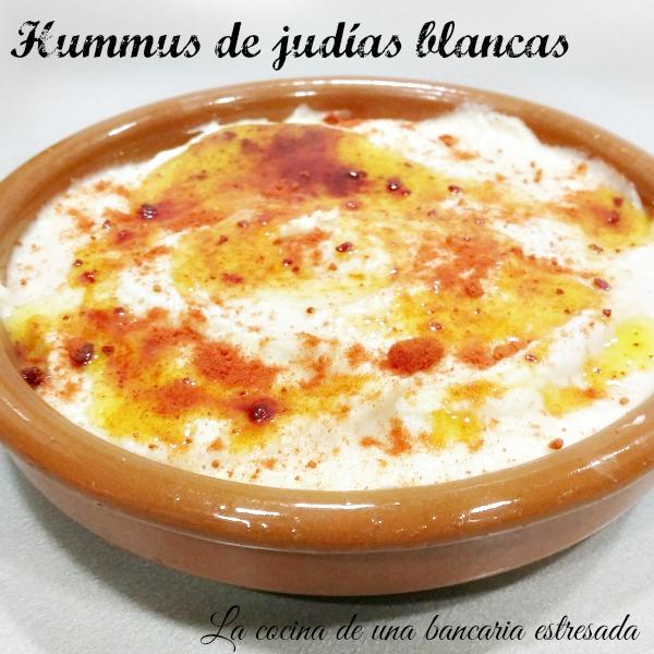 Receta de hummus de judías blancas