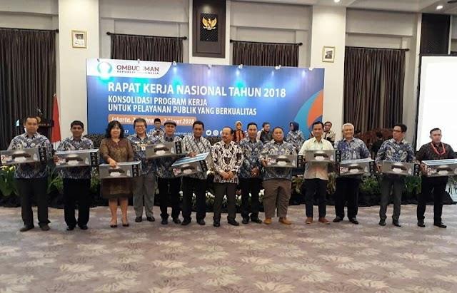 Ombudsman RI Perwakilan Kalbar Masuk 10 Besar Penanganan Laporan Terbaik 2017