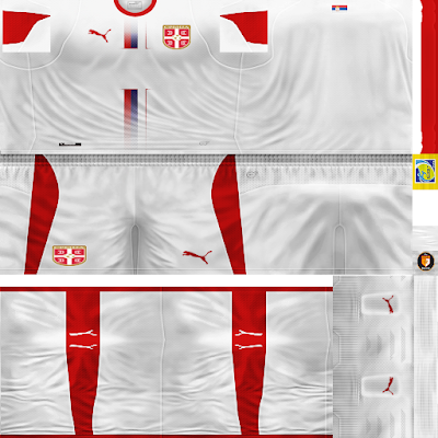 PES 6 Kits Serbia National Team World Cup 2018 by WindowOp Kitmaker