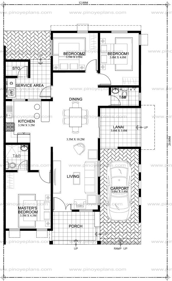 Free Small And Simple But Beautiful Home Blueprints And
