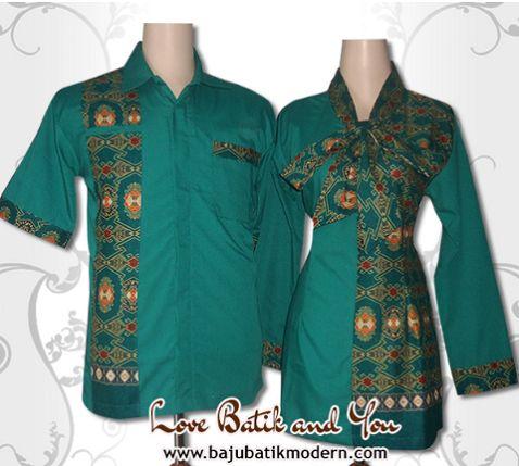 20 Model Baju Batik Resmi Kombinasi Gaya Modis 1000 Model Baju