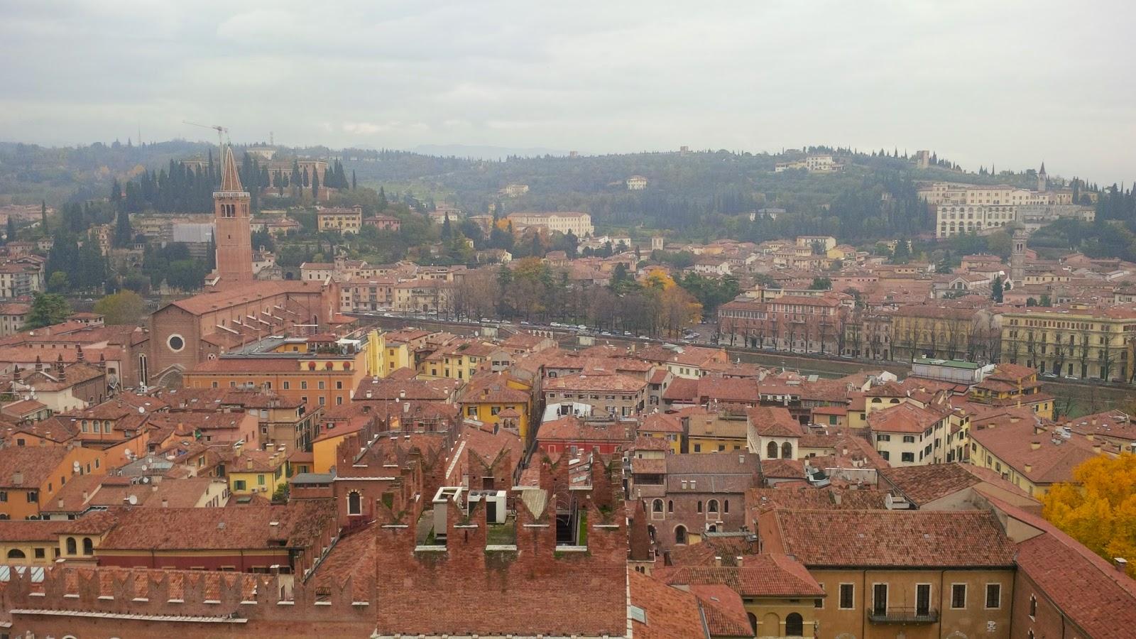 The river Adige that runs through Verona