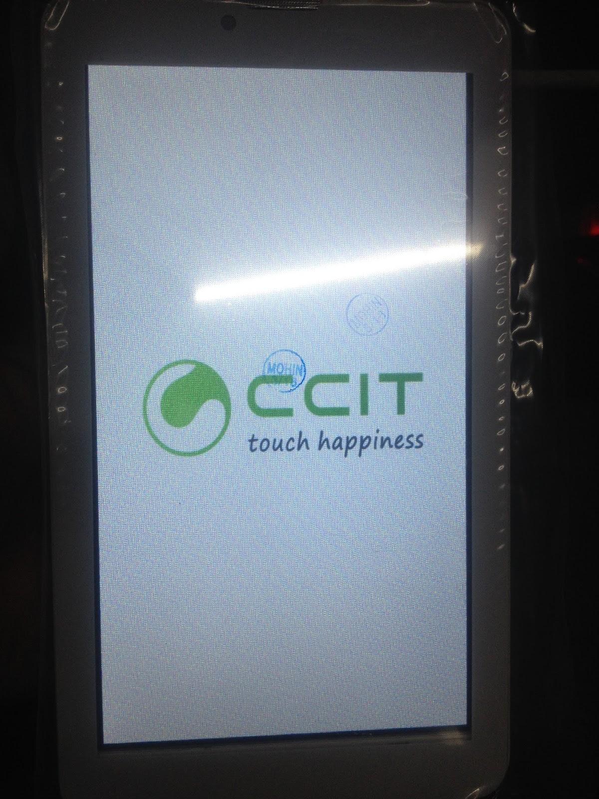 SUJON TELECOM **: CCIT A71W FLASH FILE TAB MT6572 WHAIT LCD