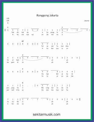 not angka ronggeng jakarta lagu daerah jakarta