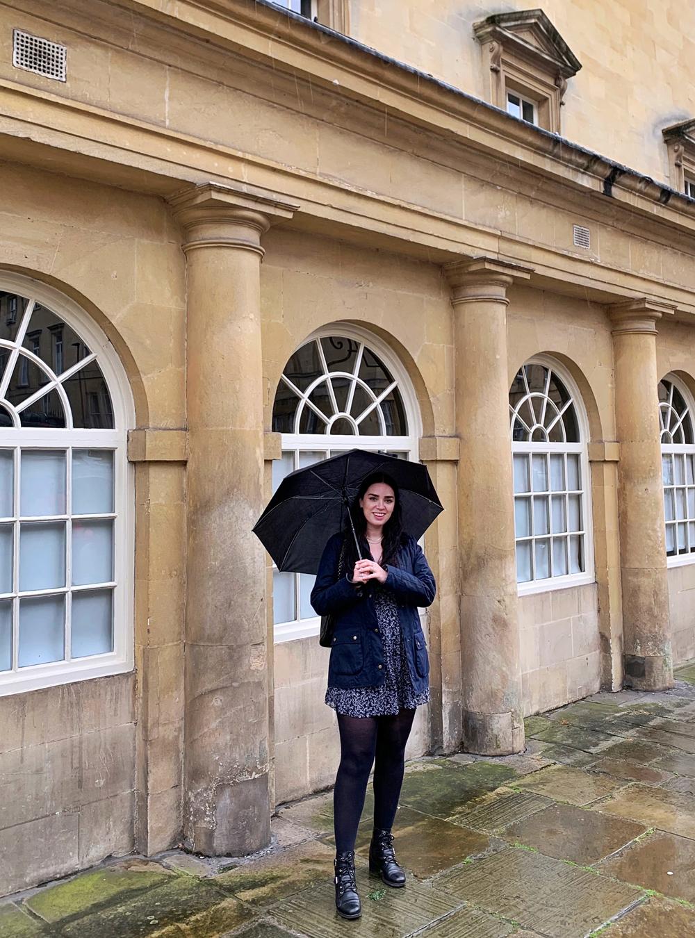 Rainy weekend in Bath - Emma Louise Layla Berry, UK travel & lifestyle blog