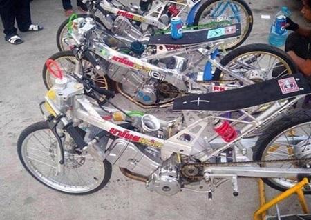 gambar motor drag fu