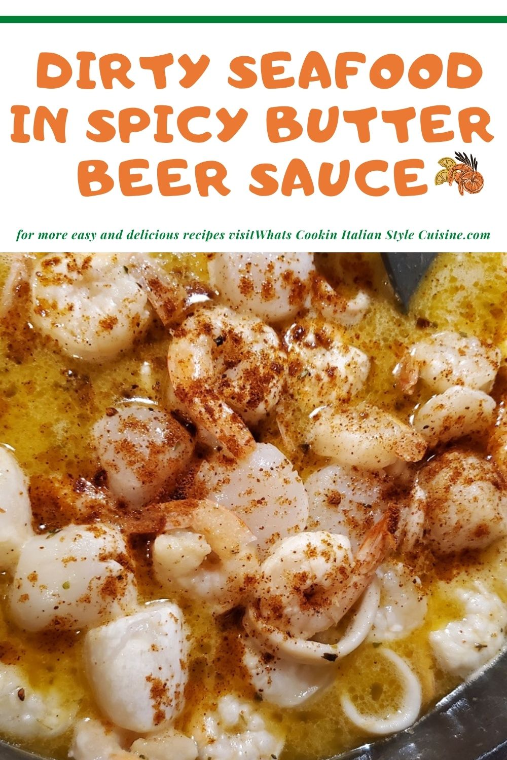 this is a pin for later on how to make a dirty seafood butter beer sauce