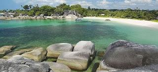 tempat wisata di bangka belitung pantai tanjung tinggi