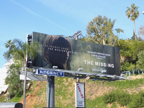 The Missing season 2 billboard