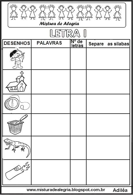 ATIVIDADES DE ALFABETIZAÇÃO: VÁRIOS AUTODITADOS PARA ...