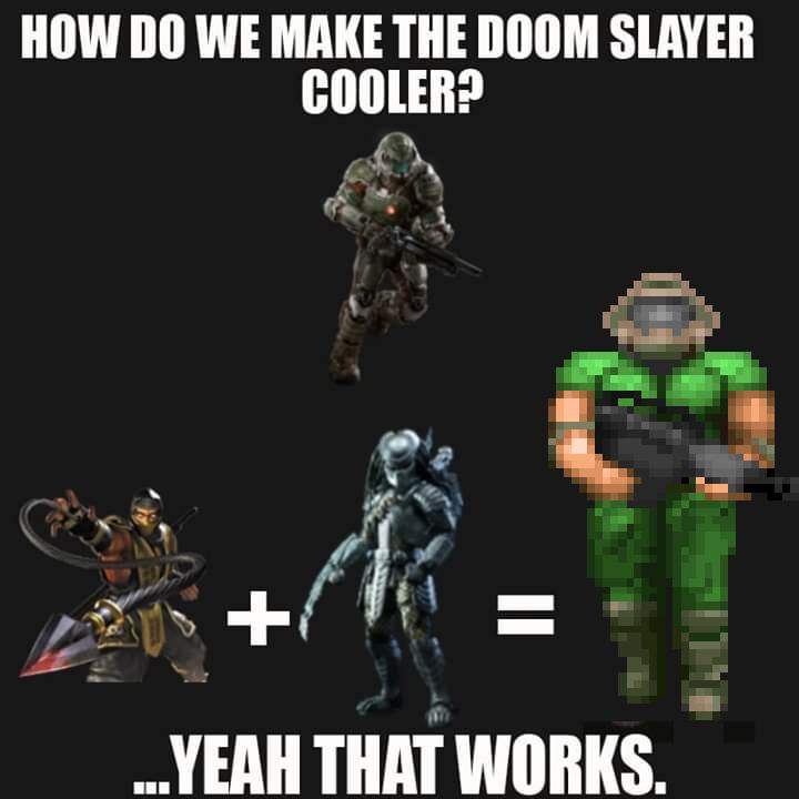 Doomguy über alles