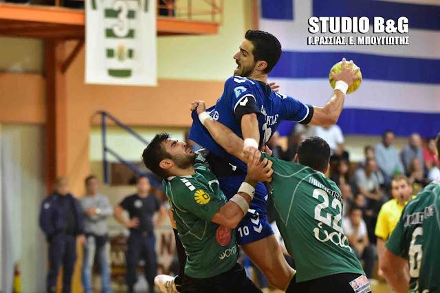 Στον πόντο αποκλείστηκε από τον τελικό ο Διομήδης - Έχασε από τον ΑΣΕ ΔΟΥΚΑ 23-22