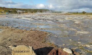 Geyser Strokkur. Círculo Dorado, Golden Circle. Islandia, Iceland.