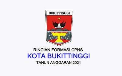 Formasi CPNS Kota Bukittinggi Tahun 2021