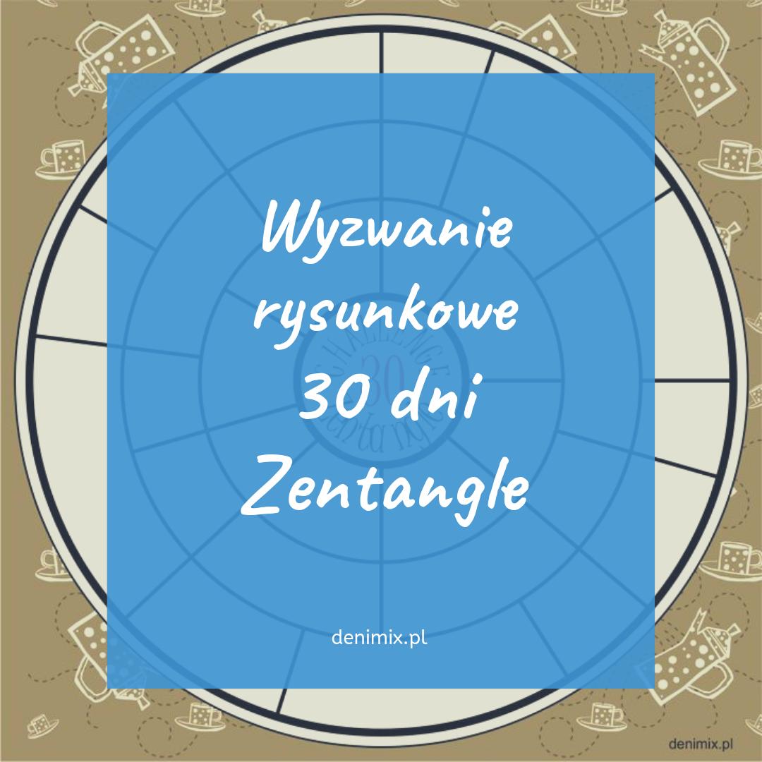 challenge wyzwanie Zentangle