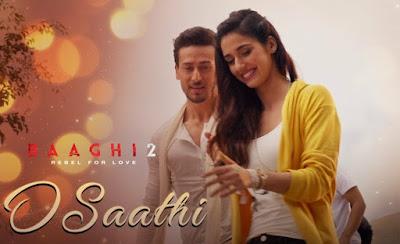 O Saathi - Bhaghi 2   Atif Aslam   Tiger Shroff   Disha Patani