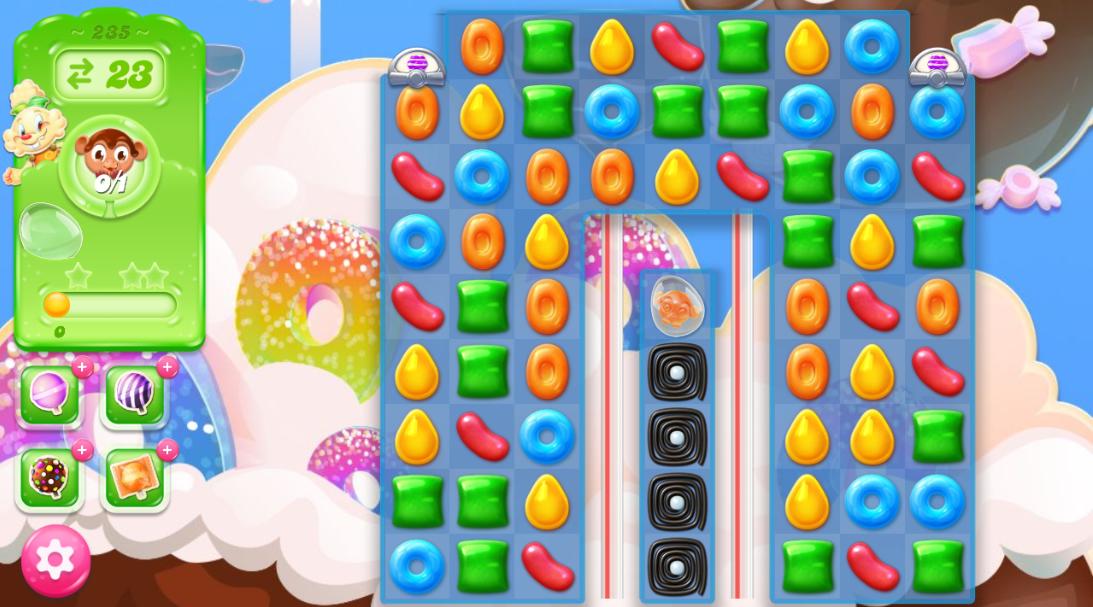 Candy Crush Jelly Saga saga 235
