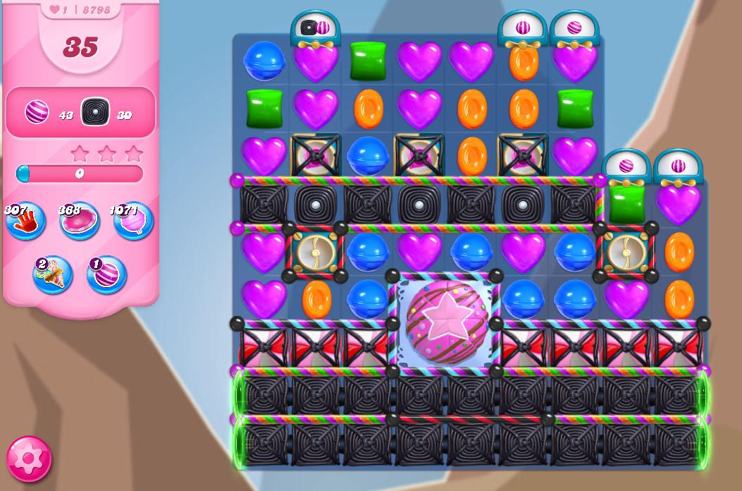 Candy Crush Saga level 8798