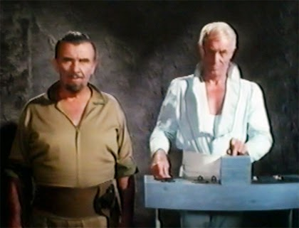 Preston Foster as Dr. Von Steiner and John Hoyt as Dr. Varno