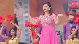 Bangladeshi Actress Purnima in Pink Dress 3