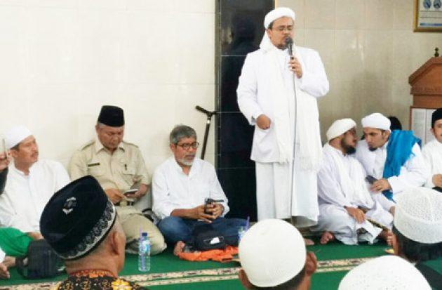 Habib Rizieq Beri Tausiyah di Kepulauan Seribu, Begini Sambutan Masyarakat Setempat