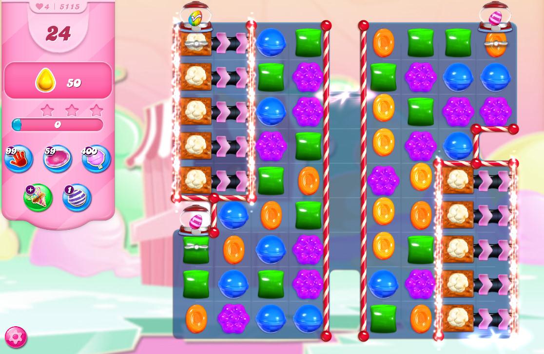 Candy Crush Saga level 5115