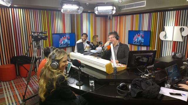 Estúdio da Rede Jovem Pan, em São Paulo: opção pelo sertanejo. Será que vira?